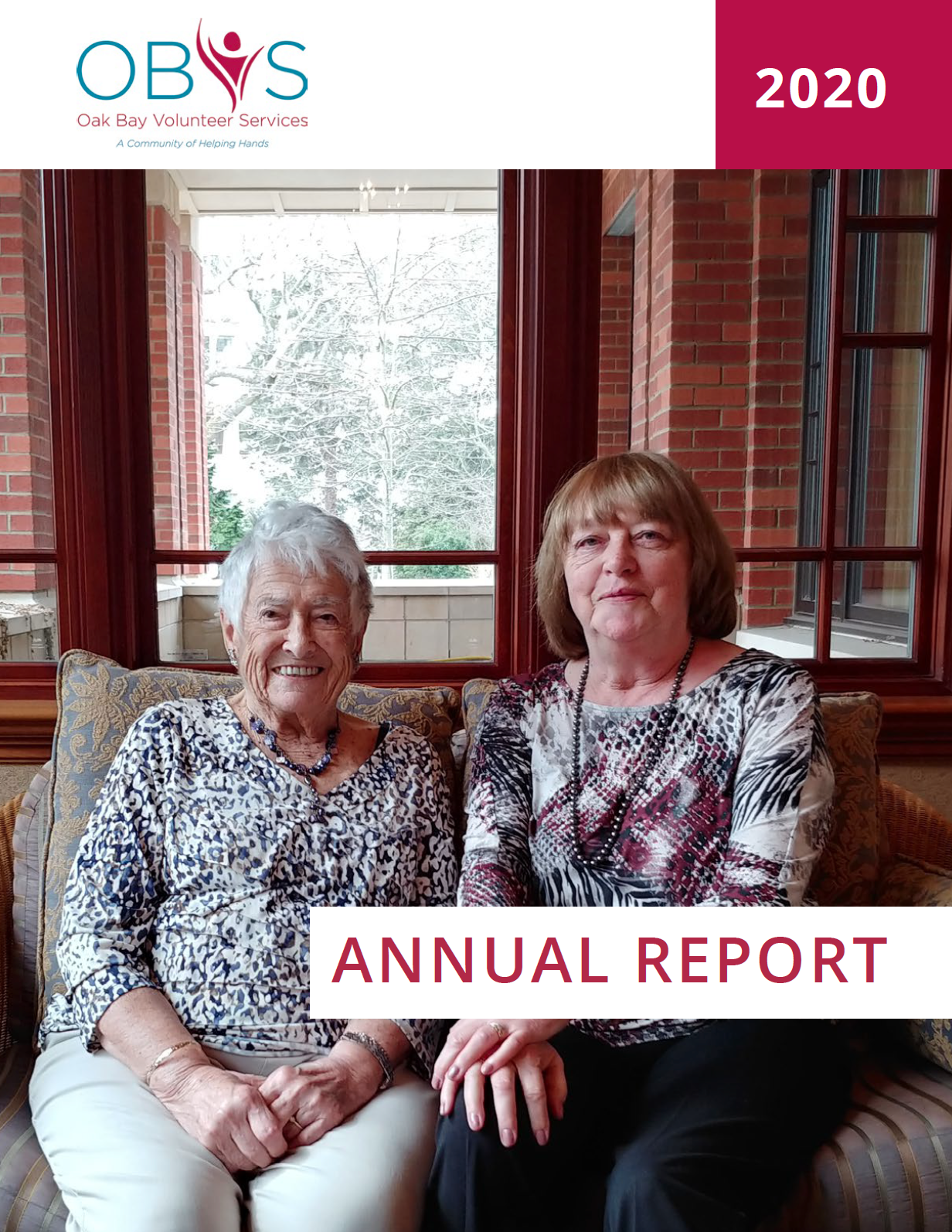 Oak Bay Volunteer Services Annual Report